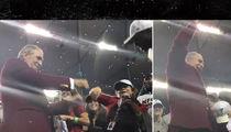 Falcons Owner Arthur Blank DIRTY VICTORY DANCIN'