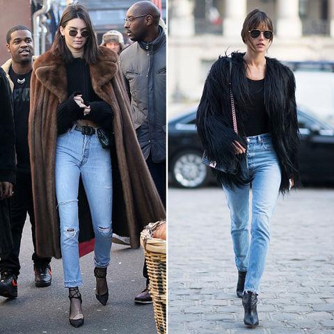 Kendall Jenner (21) vs. Alessandra Ambrosio (35)  Fashion face-off!
