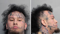 Stitches Arrested on Gun, Drug Charges in Miami (MUG SHOT)