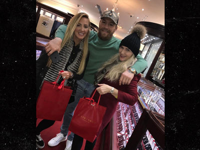 Conor McGregor Ballin' Out on Friday ... Rolexes For My Sisters! (PHOTO)