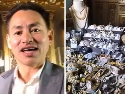 Super Bowl Celebs Dropping MILLIONS on Crazy Jewelry (VIDEO)