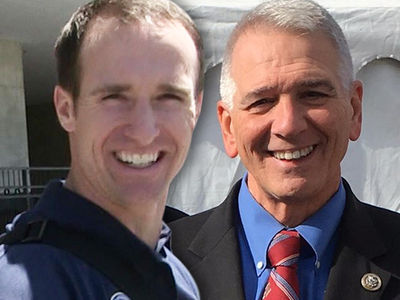 Congressman to Drew Brees -- 'I'll Chair Your Political Campaign ... Seriously'