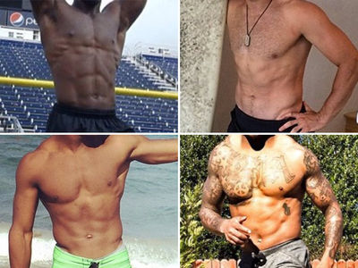 Shredded Super Bowl Bods -- Guess Who!