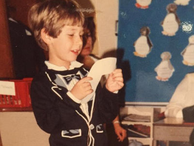 Guess Who This Dashing Dude Turned Into!
