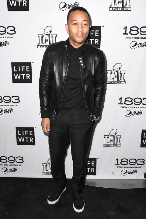 Recording artist John Legend attends LIFEWTR: Art After Dark, including 1893, at Club Nomadic during Super Bowl LI Weekend
