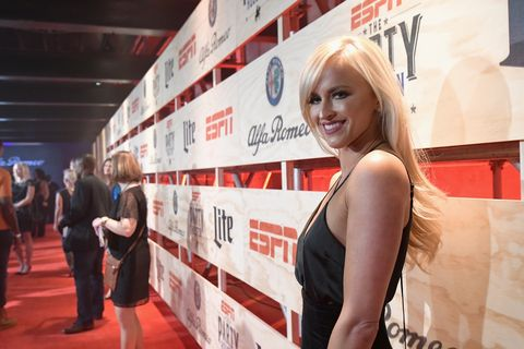 WWE's Danielle Moinet attends the 13th Annual ESPN The Party
