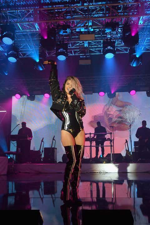 Singer Fergie performs onstage during the 13th Annual ESPN Party