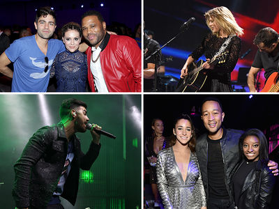 Super Bowl Saturday Parties Draw a Slew of Stars (PHOTO GALLERY)