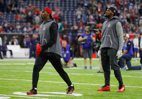 Julio Jones, Mohamed Sanu