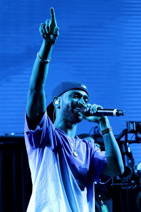 Big Sean Performing at Rolling Stone Live
