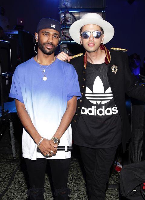 Big Sean, DJ Cassidy at Rolling Stone Live