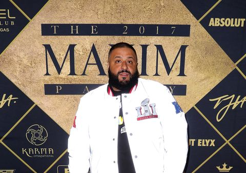 DJ Khaled at the Maxim Party