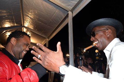 Anthony Anderson and J.B. Smoove