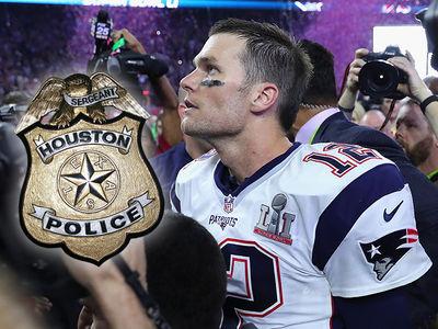 Tom Brady Missing Jersey -- No Police Report Filed ... Yet