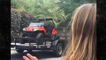 Jamie Lynn Spears' Daughter Maddie Got ATV for Birthday (VIDEO)