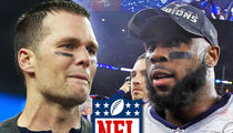James White NOT Getting Tom Brady's MVP Truck ... 'Cause It Doesn't Exist