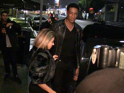 Scottie Pippen & Larsa BACK TOGETHER ... With Huge Diamond Ring (VIDEOS + PHOTO)