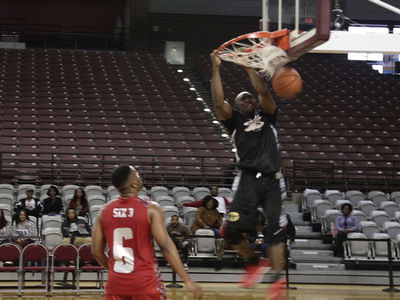 Terrell Owens Throws Down Nasty Dunk At Charity Game (VIDEO)