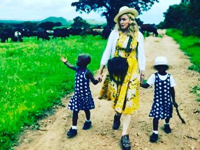 Madonna Finally Cops to Adopting Malawi Twins (PHOTO)