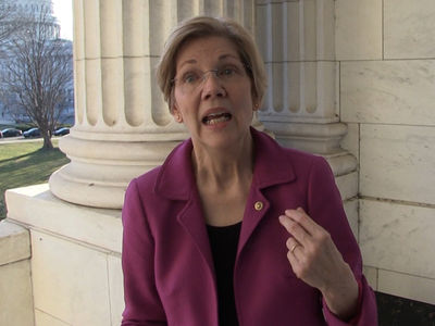 Elizabeth Warren Says It's Not a 'Women's Thing' That I Was Shut Down (VIDEO)