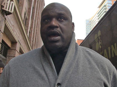 Shaq: Tom Brady's Jersey Steal Was Inside Job ... Trust Me, I'm a Cop!! (VIDEO)