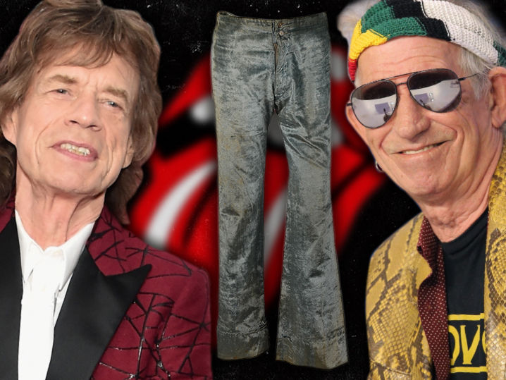 You want to get into Mick Jagger and Keith Richards' pants ... you can, for a hefty price.