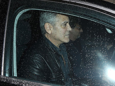 George Clooney Steps Out Post-Baby News