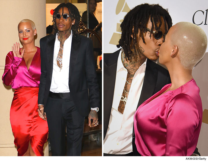 Wiz and amber rose dating