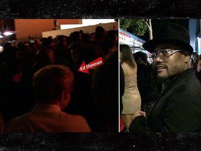 Ed Sheeran Turned Away at Grammys Party (VIDEO)