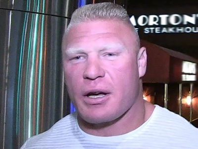Brock Lesnar to UFC ... I'm Retiring from MMA