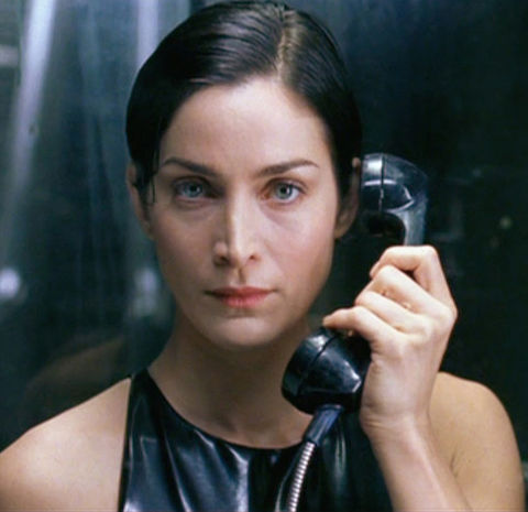 Carrie-Anne Moss is best known for playing the butt-kicking babe, Trinity -- opposite Keanu Reeves as Neo -- in the 1999 action movie 'The Matrix.'