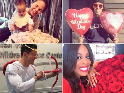 Celebrities Celebrating Valentine's Day (PHOTO GALLERY)