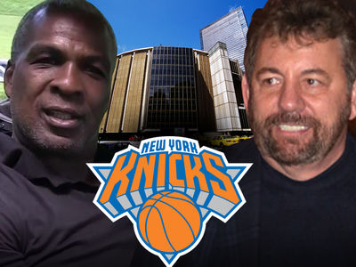 Charles Oakley UNBANNED By Knicks ... Welcome Back to MSG