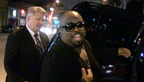 CeeLo Green Denies He Was the Gold Man at the Grammys (VIDEO)