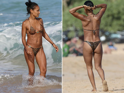 Jada Pinkett Smith's Butt Easily Spotted in Hawaii (PHOTO GALLERY)