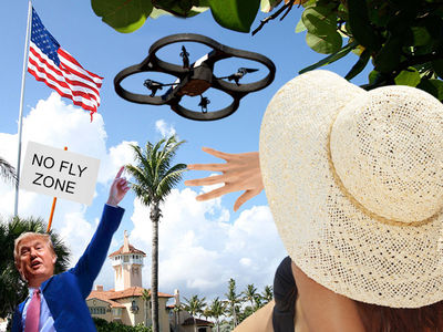 President Trump ... Mar-a-Lago Protected from Planes, Drones and Rockets