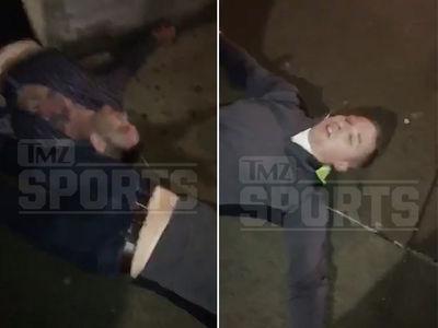 Darrelle Revis Knockout Aftermath Footage ... 2 Men Out Cold (VIDEO)