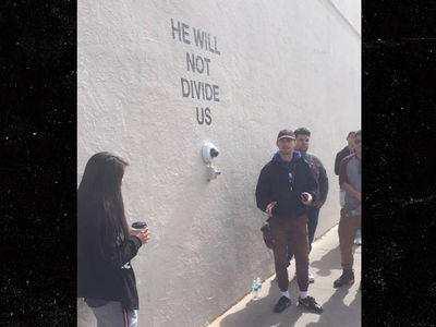 Shia LaBeouf and New Mexico Cops Touch Base at New Trump Protest Cam (VIDEO)