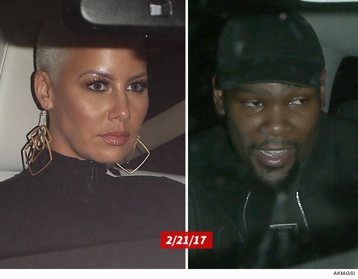 Amber rose dating kevin durant