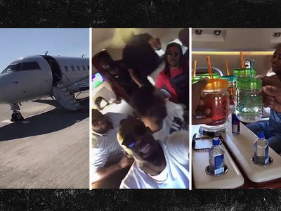 Usain Bolt's ULTIMATE PRIVATE JET TURN UP ... Carnival, Here We Come! (VIDEO)