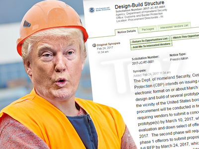 President Trump Makes It Official, Get Your Wall Bids Ready (DOCUMENT + VIDEO)