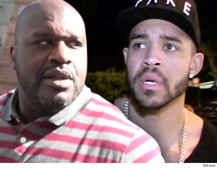 a4aaaf4b79dfa Shaq s playful beef with NBA player JaVale McGee just went NUCLEAR ... with  the two men vowing to fight each other ON SIGHT after a series of menacing  and ...
