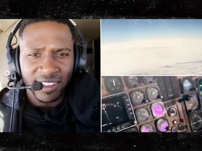 Antonio Brown Flying A Jet?! (VIDEO)
