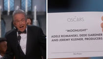 'Moonlight' Wins Best Picture After Epic Oscars Screwup  (VIDEO)