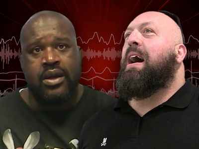 Shaq vs. Big Show WrestleMania Bout In Jeopardy ... 'Not Looking Good' (AUDIO)