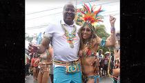 Conrad Murray Enjoys Trinidad Carnival Festivities with GF Nicole Alvarez (PHOTO)