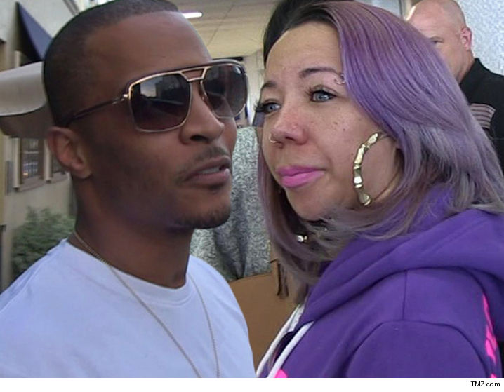 t i and tiny s divorce dead in the water for now tmz com