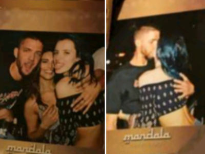Chandler Parsons & Bella Thorne ... Movie Date After Mexico Kiss (PHOTOS + VIDEO)