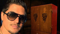 Zak Bagans is the Scared New Owner of Dybbuk Box, 'World's Most Haunted Object' (PHOTOS)