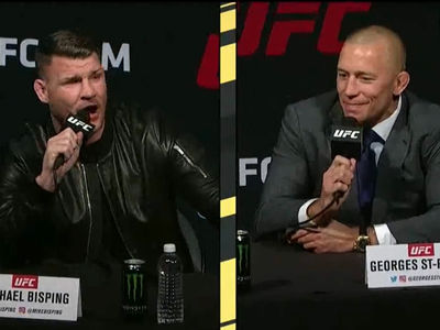 Michael Bisping: I'd Beat Georges St-Pierre With A Hangover (VIDEO)
